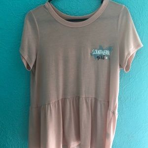 I'm selling a Red Camel top